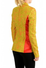 Just Cavalli Women's Lace Two-Tone One Button Blazer: Picture 3