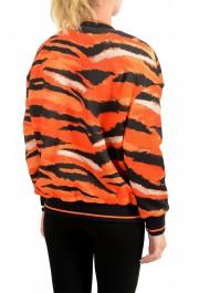 Just Cavalli Women's Multi-Color Animal Print Full Zip Jacket : Picture 3
