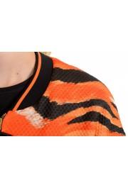 Just Cavalli Women's Multi-Color Animal Print Full Zip Jacket : Picture 4