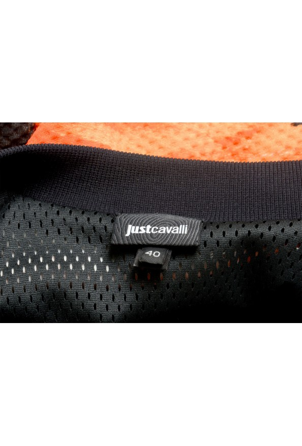 Just Cavalli Women's Multi-Color Animal Print Full Zip Jacket : Picture 5