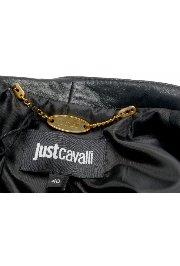 Just Cavalli Women's Multi-Color 100% Leather Bomber Jacket : Picture 5