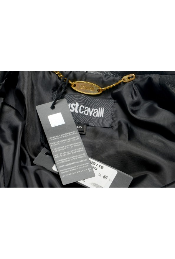 Just Cavalli Women's Multi-Color 100% Leather Bomber Jacket : Picture 6
