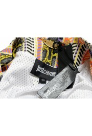 Just Cavalli Women's Multi-Color Striped Full Zip Bomber Jacket: Picture 6