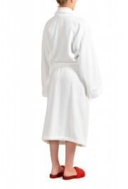 SFERRA Women's White Cotton Belted Bathrobe: Picture 3