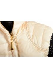 Just Cavalli Women's Ivory Down Lightweight Sleeveless Parka Vest : Picture 4
