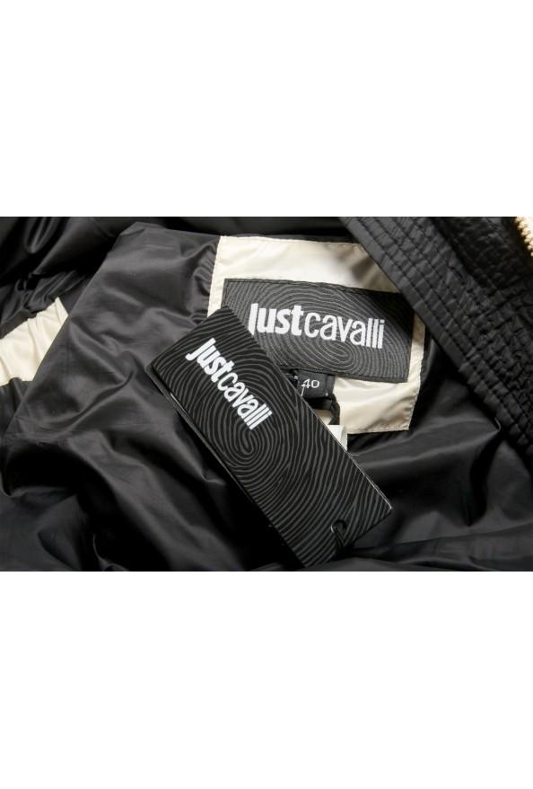 Just Cavalli Women's Ivory Down Lightweight Sleeveless Parka Vest : Picture 6
