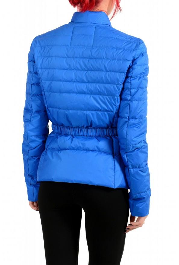 Just Cavalli Women's Royal Blue Down Lightweight Parka Jacket: Picture 3