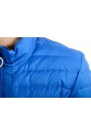 Just Cavalli Women's Royal Blue Down Lightweight Parka Jacket: Picture 4