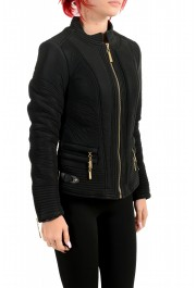Just Cavalli Women's Black Full Zip Lightweight Jacket : Picture 2