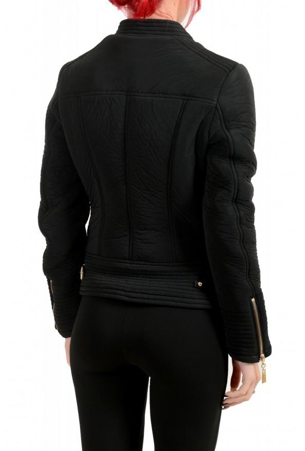 Just Cavalli Women's Black Full Zip Lightweight Jacket : Picture 3
