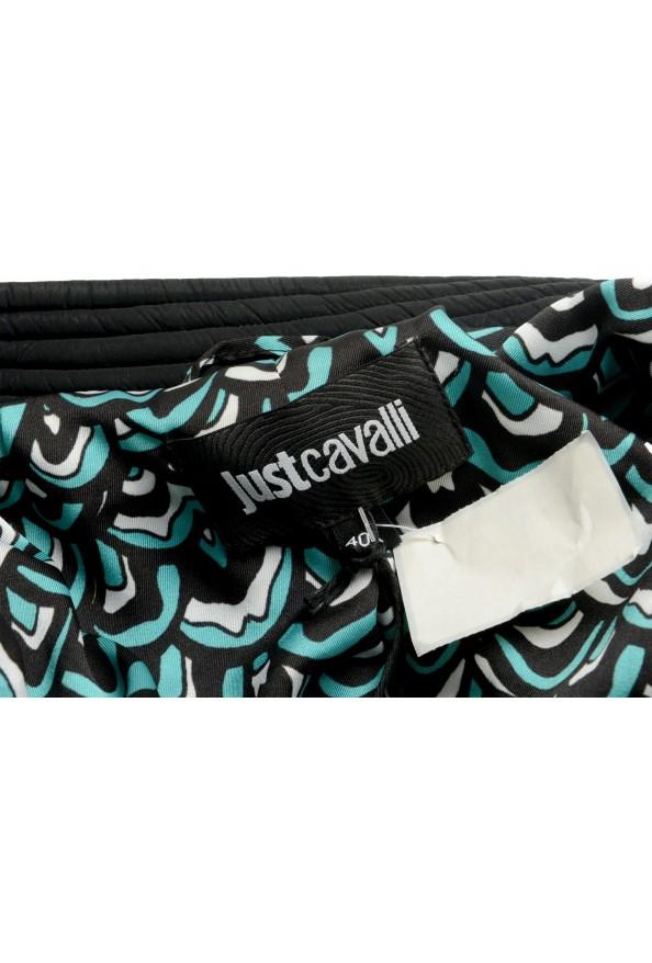 Just Cavalli Women's Black Full Zip Lightweight Jacket : Picture 5