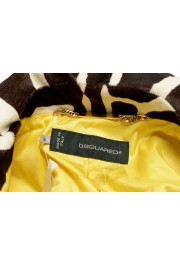 Dsquared2 Women's Multi-Color Pony Hair Leather Belted Coat Blazer : Picture 5