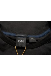 """Hugo Boss Men's """"Tempo2"""" Black Relaxed Fit Graphic Crewneck T-Shirt : Picture 6"""