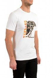 Versace Collection Men's White Graphic Crewneck T-Shirt : Picture 2