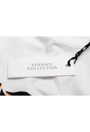 Versace Collection Men's White Graphic Crewneck T-Shirt : Picture 5