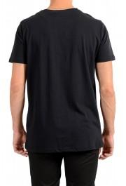 Roberto Cavalli Men's Black Graphic Print Crewneck T-Shirt: Picture 3