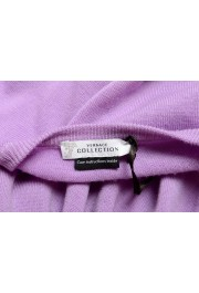Versace Collection Men's Purple 100% Wool Crewneck Pullover Sweater: Picture 6