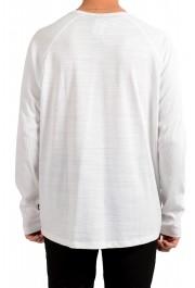 "Hugo Boss Men's ""Terell 50"" White Crewneck Long Sleeve T-Shirt: Picture 3"