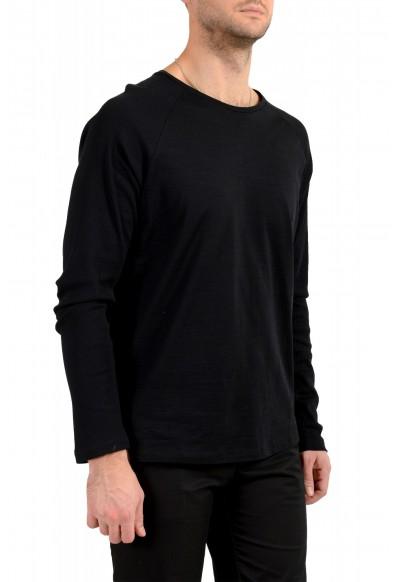 "Hugo Boss Men's ""Terell 50"" Black Crewneck Long Sleeve T-Shirt : Picture 2"