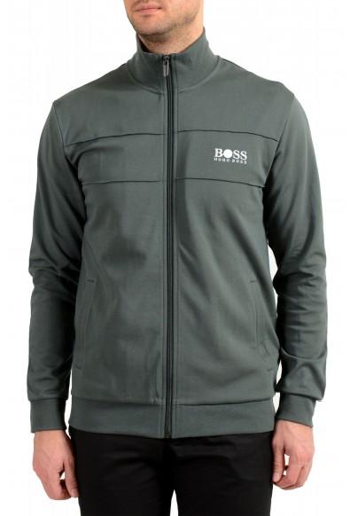 "Hugo Boss ""Tracksuit Jacket"" Men's Full Zip Track Sweater Jacket"