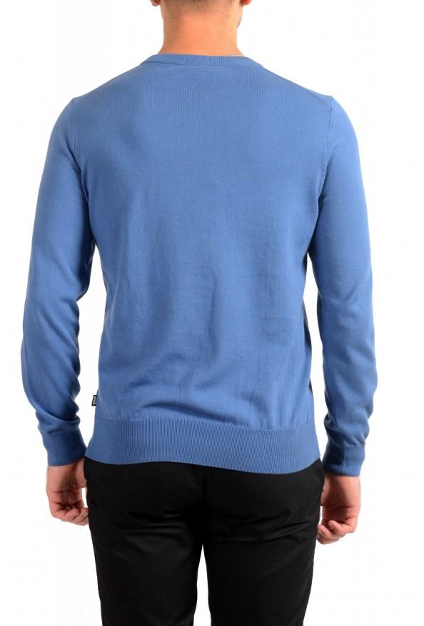 "Hugo Boss ""Pacas"" Men's Blue Crewneck Pullover Sweater: Picture 3"