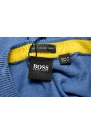 "Hugo Boss ""Pacas"" Men's Blue Crewneck Pullover Sweater: Picture 5"