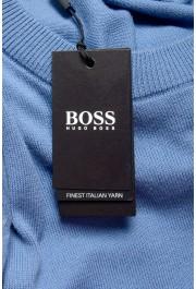 "Hugo Boss ""Pacas"" Men's Blue Crewneck Pullover Sweater: Picture 6"