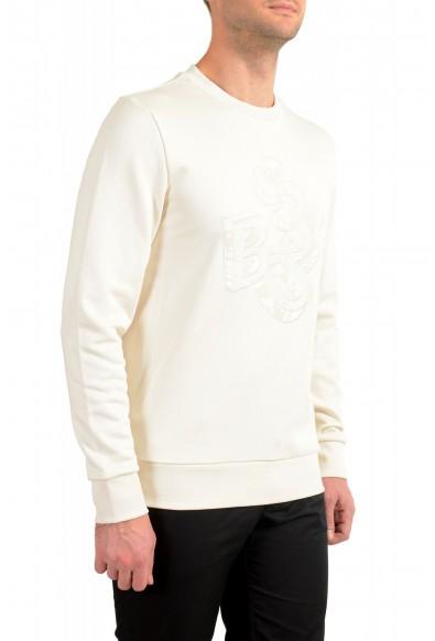 """Hugo Boss """"Stadler 56"""" Men's Ivory Crewneck Sweatshirt Sweater: Picture 2"""