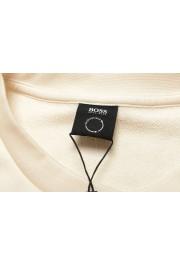 """Hugo Boss """"Stadler 56"""" Men's Ivory Crewneck Sweatshirt Sweater: Picture 6"""