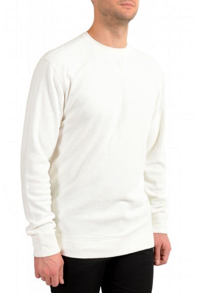 """Hugo Boss """"Weich"""" Men's White Crewneck Sweatshirt Sweater: Picture 2"""