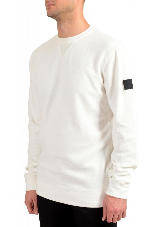 """Hugo Boss """"Weich"""" Men's White Crewneck Sweatshirt Sweater: Picture 3"""