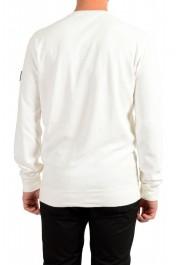"""Hugo Boss """"Weich"""" Men's White Crewneck Sweatshirt Sweater: Picture 4"""