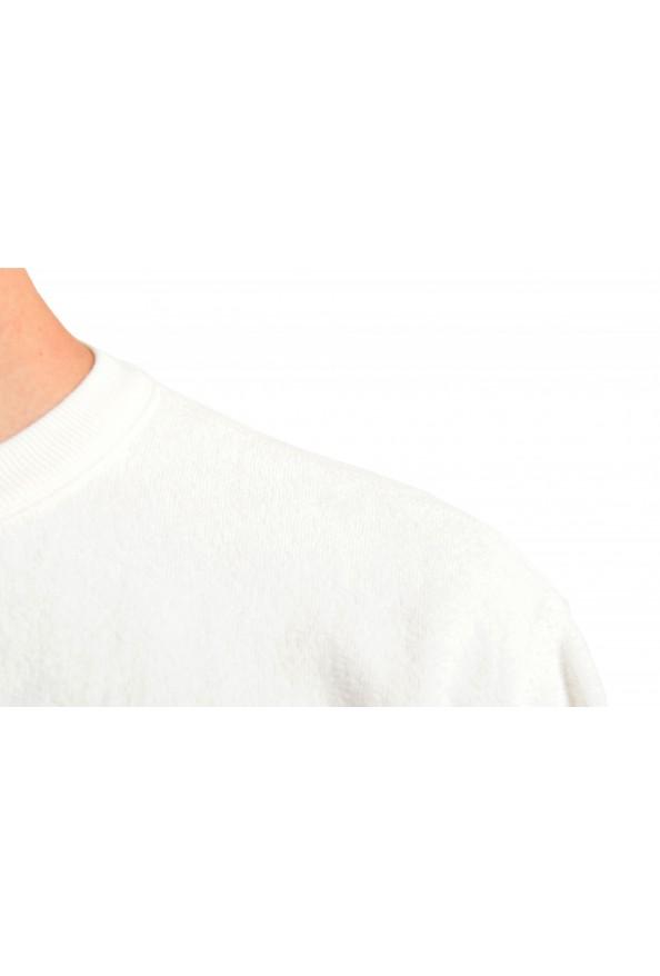 """Hugo Boss """"Weich"""" Men's White Crewneck Sweatshirt Sweater: Picture 5"""