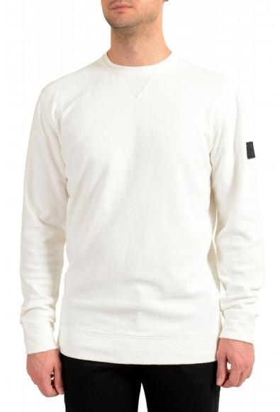 "Hugo Boss ""Weich"" Men's White Crewneck Sweatshirt Sweater"