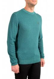 "Hugo Boss ""Kustorio"" Men's Green 100% Wool Crewneck Pullover Sweater: Picture 2"