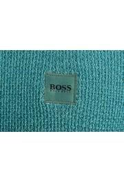 "Hugo Boss ""Kustorio"" Men's Green 100% Wool Crewneck Pullover Sweater: Picture 4"