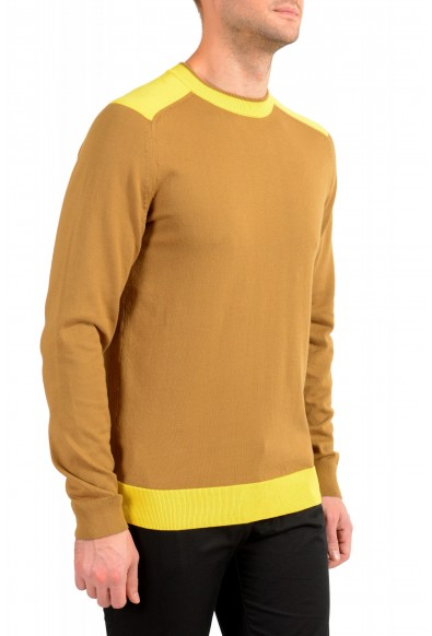 "Hugo Boss ""Pintus"" Men's Beige Crewneck Pullover Sweater: Picture 2"