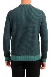 "Hugo Boss ""Denotti"" Men's Green Wool Crewneck Pullover Sweater: Picture 3"