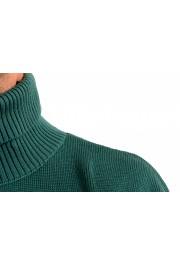 "Hugo Boss ""Dibuono"" Men's Green 100% Wool Turtleneck Pullover Sweater: Picture 5"