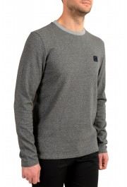 "Hugo Boss ""Tepatte"" Men's Gray Crewneck Pullover Sweater: Picture 2"