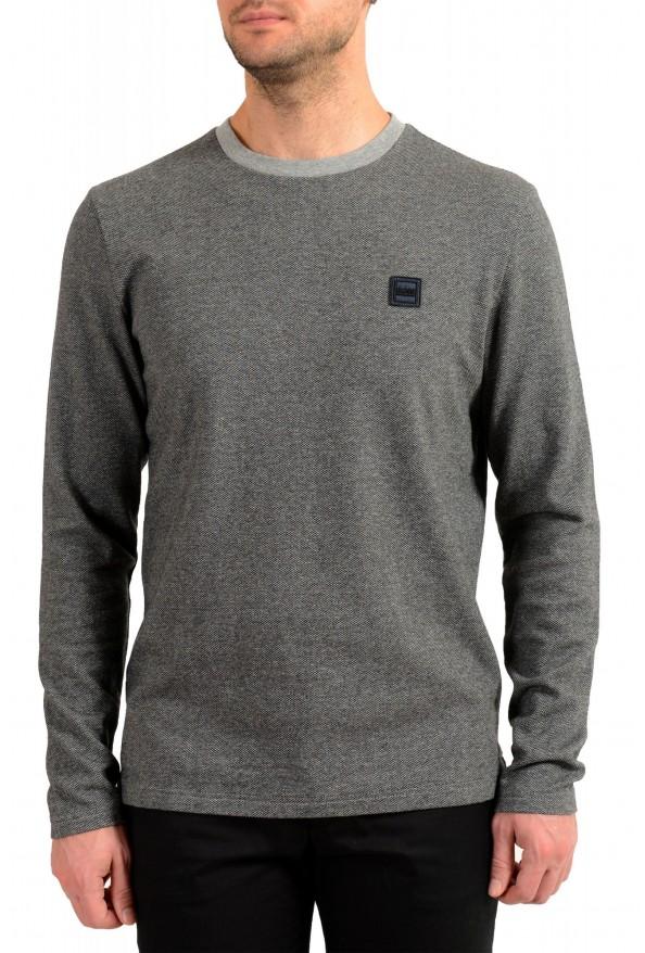 "Hugo Boss ""Tepatte"" Men's Gray Crewneck Pullover Sweater"