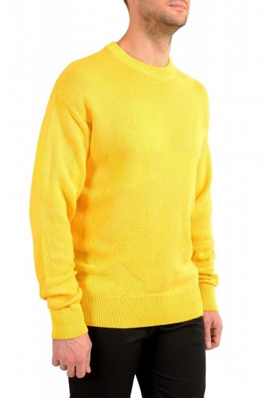 """Hugo Boss """"Piolo"""" Men's Bright Yellow Crewneck Pullover Sweater: Picture 2"""