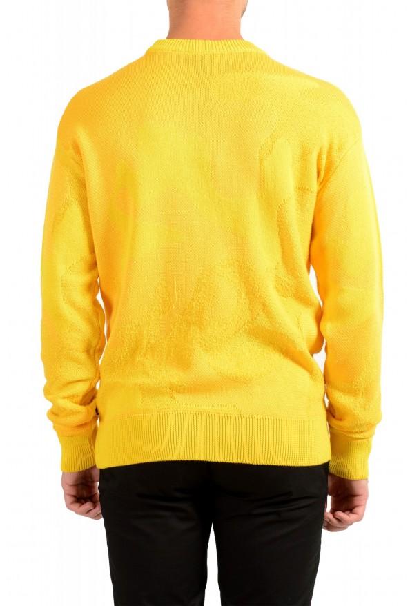 """Hugo Boss """"Piolo"""" Men's Bright Yellow Crewneck Pullover Sweater: Picture 3"""