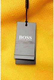 """Hugo Boss """"Piolo"""" Men's Bright Yellow Crewneck Pullover Sweater: Picture 5"""
