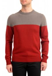 "Hugo Boss ""Dilio"" Men's Crewneck 100% Wool Pullover Sweater"