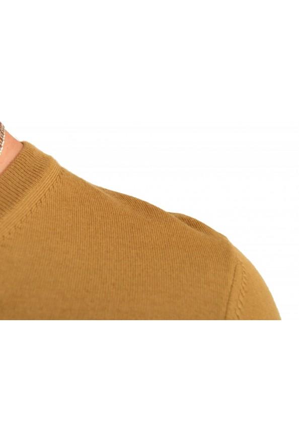 "Hugo Boss ""Melba-P"" Men's Brown V-Neck 100% Wool Pullover Sweater: Picture 4"