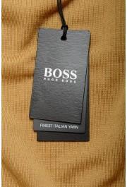 "Hugo Boss ""Melba-P"" Men's Brown V-Neck 100% Wool Pullover Sweater: Picture 6"