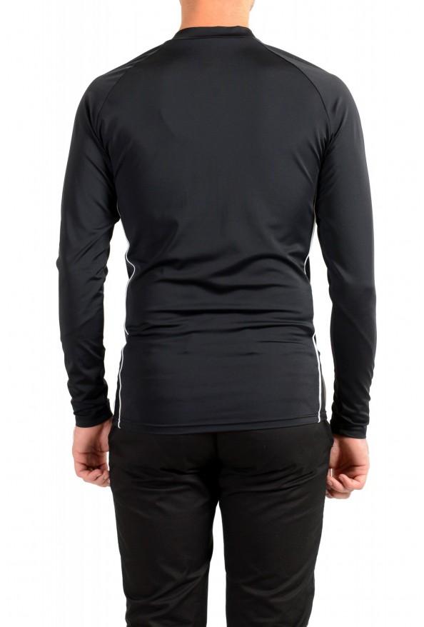 "Hugo Boss Men's ""LS-Shirt RN"" Black Sun Protection Slim Fit T-Shirt: Picture 3"