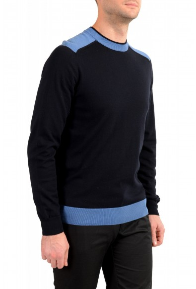 "Hugo Boss ""Pintus"" Men's Blue Crewneck Pullover Sweater: Picture 2"