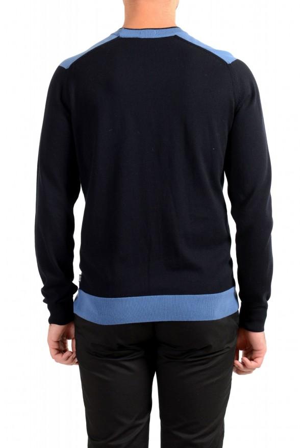 "Hugo Boss ""Pintus"" Men's Blue Crewneck Pullover Sweater: Picture 3"